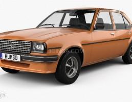 ماشین Opel مدل Ascona berlina سال1975
