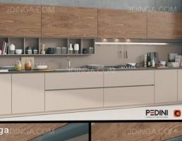 آشپزخانه سبک مدرن