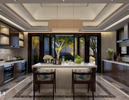فضای آشپزخانه مدرن
