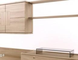 ست میز تلویزیون + باکس چوبی