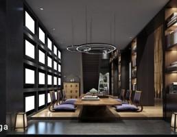 نمای داخلی اتاق ملاقات
