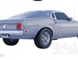 ماشین فورد موستانگ 69