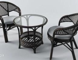 ست میز + صندلی