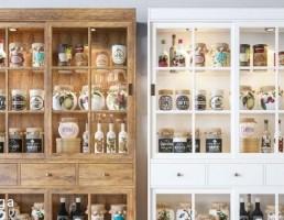 ویترین چوبی آشپزخانه