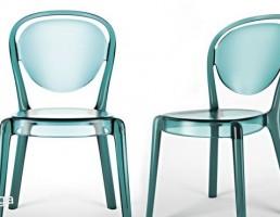 صندلی شیشه ای مدرن