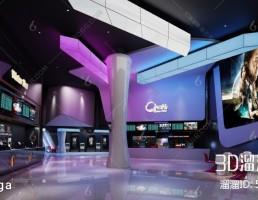 صحنه داخلی لابی سینما