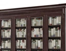 قفسه کتاب کلاسیک (کتابخانه)