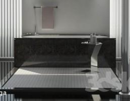 وان حمام مدرن