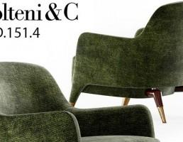 صندلی راحتی Molteni