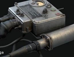 دستگاه اندازه گیری اشعه ایکس DP-3B