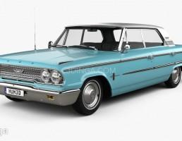 ماشین فورد Galaxie سال 1963