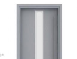 درب شیشه خور چوبی