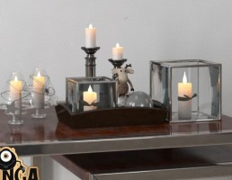 مجموعه شمع تزیینی