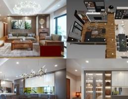 نمای داخلی خانه