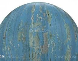 تکسچر چوب رنگ آبی