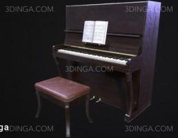 پیانو + پاف + نت موسیقی
