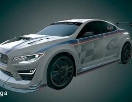 سوبارو مدل WRX Race Car