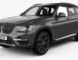 BMW مدل x3 سال 2013