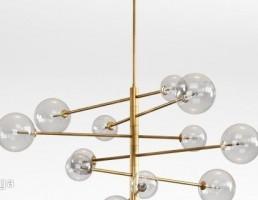 مدل سه بعدی چراغ سقفی