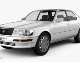 ماشین لکسوس LS سال 1989