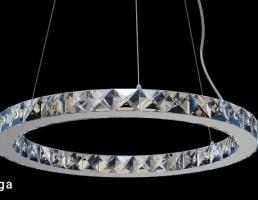 لوستر مدرن + چراغ دیواری