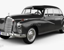 ماشین مرسدس بنز مدل W189 سال 1957