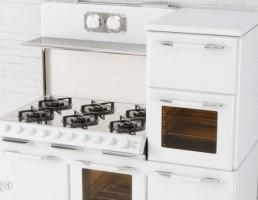 اجاق گاز + فر آشپزخانه + کابینت