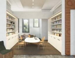 کتابخانه مدرن