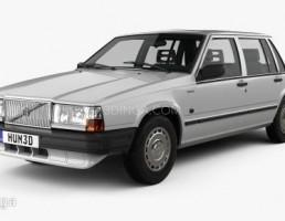ماشین ولوو 744 سال 1985