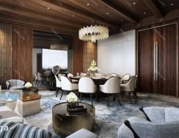 اتاق پذیرایی سبک مدرن