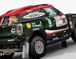 ماشین مسابقه ایی MINI-X RAID DAKAR