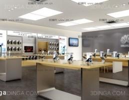 صحنه داخلی فروشگاه کالاهای دیجیتال