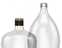 بطری کریستالی تزیینی