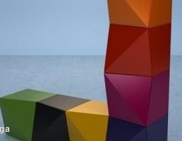 مدل سه بعدی شلف فانتزی