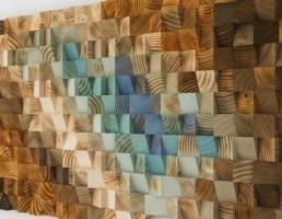 مدل دیوار پوش چوبی