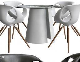 میز +صندلی