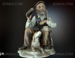مجسمه پیرمرد
