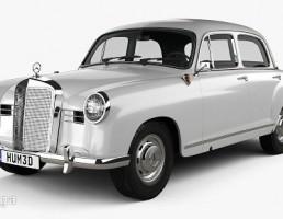 مرسدس مدل Ponton سال 1953