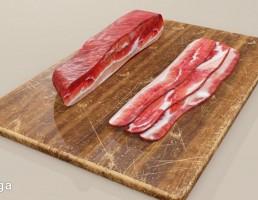 بیکن گوشت قرون وسطایی