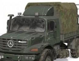 ماشین نظامی Mercedes-Benz Zetros