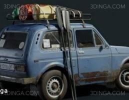 ماشین Niva Gameready