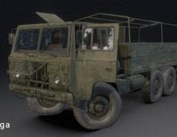 کامیون نظامی TGB 40 SAAB Scania