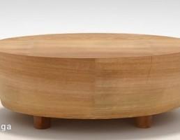 میز چوبی مدرن