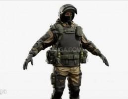 جنگجوی نیروهای ویژه