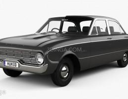 ماشین فورد شاهین سال 1960