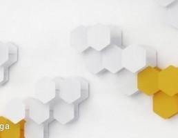 مدل سه بعدی پنل دیواری