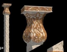 ستون به سبک عربی