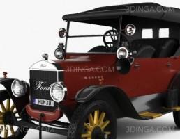 ماشین فورد مدل T سال 1924