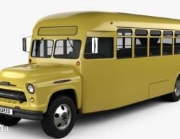 شورولت 6700 اتوبوس مدرسه 1955