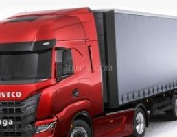 ماشین ایوکو مدل S-Way همراه با تریلر  سال 2020